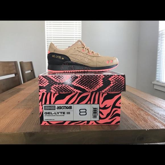 online store 5a949 87083 Sneaker Freaker X Asics Gel Lyte III Tiger Snake NWT